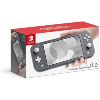 ニンテンドースイッチ(Nintendo Switch)の任天堂 switch Lite グレー(家庭用ゲーム機本体)