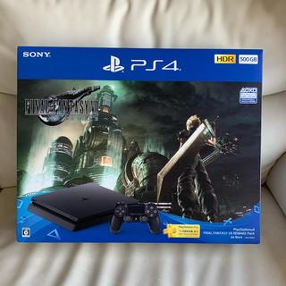 新品未開封 PS4 FF7 リメイク版(家庭用ゲーム機本体)