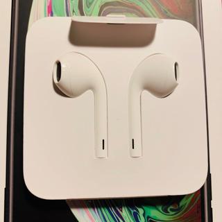 Apple - iPhoneXS イヤホン アップル 白 apple