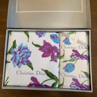 クリスチャンディオール(Christian Dior)のクリスチャンディオール タオルセット(タオル/バス用品)