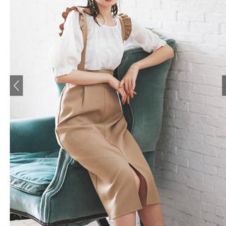 グレイル(GRL)のフリル付きタイトスカート黒(その他)