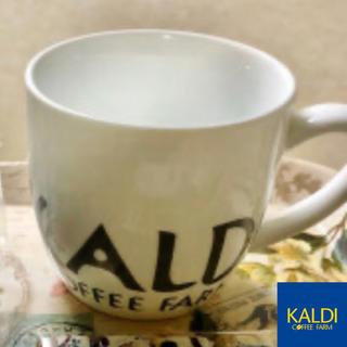 カルディ(KALDI)の【新品・未使用】カルディ マグカップ 2個 (マグカップ)