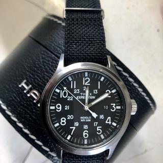 タイメックス(TIMEX)のTIMEXタイメックスミリタリーNATO替えベルト新品40mm美品完動品(腕時計(アナログ))