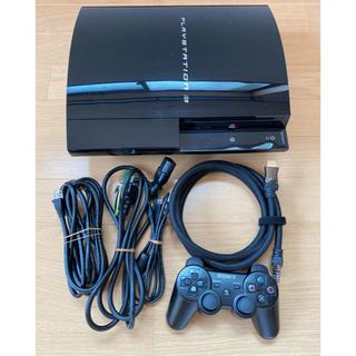 プレイステーション3(PlayStation3)のプレイステーション3 FW3.55 初期型 CFW可 HDD換装済(家庭用ゲーム機本体)