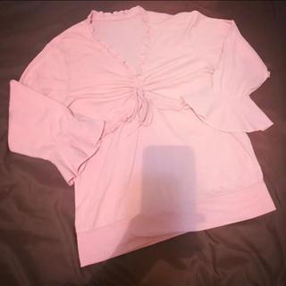 girly pink tops♡(カットソー(長袖/七分))