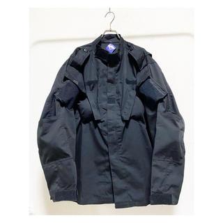 コムデギャルソン(COMME des GARCONS)のdead stock vintage ミリタリー 変形 黒 コンバットシャツ(ミリタリージャケット)