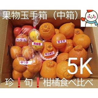 果物玉手箱(タップリ中箱)♥旬の柑橘達の味比べ♥雪だるま直送(フルーツ)