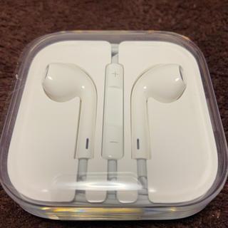 アップル(Apple)の【iPhoneイヤホン 純正】(ヘッドフォン/イヤフォン)