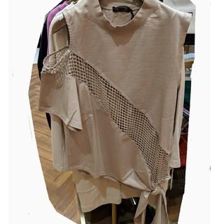 アウラアイラ(AULA AILA)のAULA メッシュラインTシャツ(Tシャツ(半袖/袖なし))