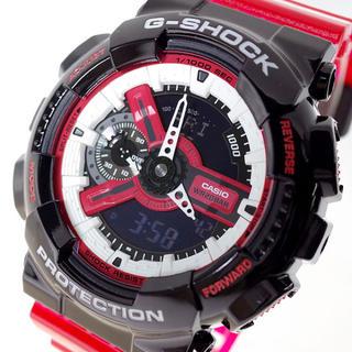 ジーショック(G-SHOCK)のカシオ 腕時計 メンズ レディース  クォーツ ブラック レッド ピンク(腕時計(デジタル))