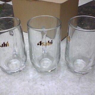 アサヒ(アサヒ)のアサヒ ビールジョッキ 大3個セット★ゴールドラベル♪ビアジョッキ生ビール(グラス/カップ)