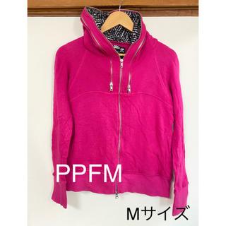 ピーピーエフエム(PPFM)のPPFM メンズパーカー Mサイズ(パーカー)