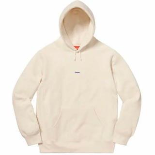 シュプリーム(Supreme)のsupreme Micro Logo Hooded Sweatshirt L(パーカー)