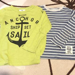 ジーンズベー(jeans-b)の110 ロングティーシャツ セット(Tシャツ/カットソー)
