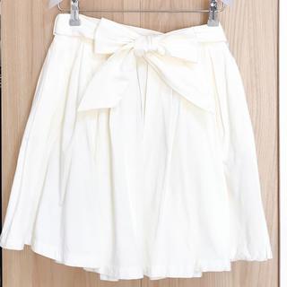 ダズリン(dazzlin)のdazzlin オフホワイト ミニスカート(ミニスカート)