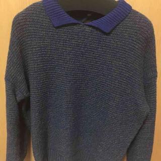 ケービーエフ(KBF)のKBFの衿付きニット(ニット/セーター)