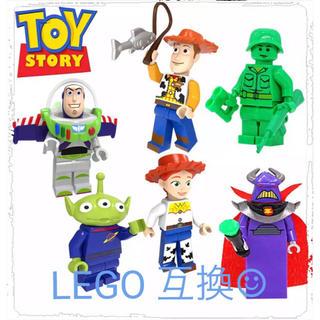 トイストーリー(トイ・ストーリー)の【新品未使用】トイストーリー ミニフィグ レゴ互換(知育玩具)