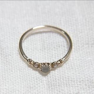 エテ(ete)の【美品】★ リング ★ ゴールド K10 ete エテ ピンキーリング 指輪(リング(指輪))
