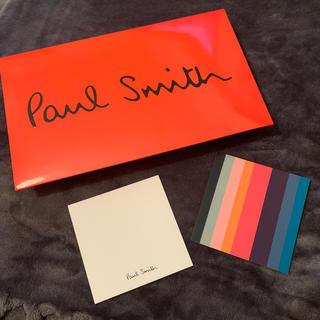 ポールスミス(Paul Smith)のPaul Sumithメッセージカードプレゼント袋(ショップ袋)