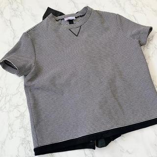 レッドヴァレンティノ(RED VALENTINO)のRED VALENTINO バレンチノ Tシャツ ボーダー リボン 半袖(Tシャツ(半袖/袖なし))