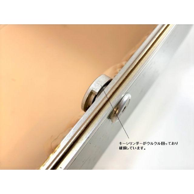 ZERO HALLIBURTON(ゼロハリバートン)の銀ハリ ゼロハリ ビンテージアルミコスメケース #7602 コスメ/美容のメイク道具/ケアグッズ(メイクボックス)の商品写真
