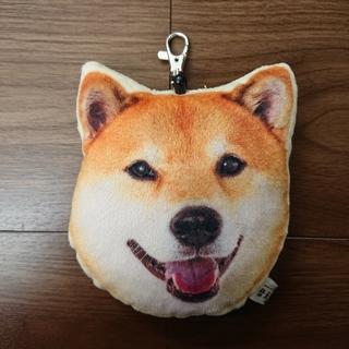 柴犬まる★リール付きパスケース  (キャラクターグッズ)