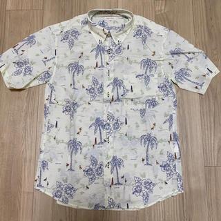 アルファ(alpha)の【ALPHA】メンズ アロハ柄 半袖シャツ(シャツ)