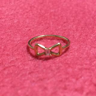 スタージュエリー(STAR JEWELRY)のリボンピンキーリング(リング(指輪))
