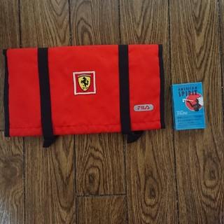 フェラーリ(Ferrari)のフェラーリとFILAのコラボ クラッチバッグ?(メッセンジャーバッグ)