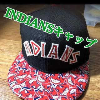 ニューエラー(NEW ERA)の【最終価格】激レア!メジャーリーグMLB インディアンズキャップ帽子(記念品/関連グッズ)