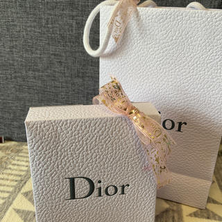 ディオール(Dior)のDior ショップ袋と口紅箱リボン付き(ショップ袋)