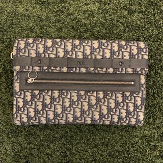 ディオール(Dior)のDIOR ロゴクラッチバッグ dior ディオール(セカンドバッグ/クラッチバッグ)