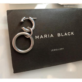 ナノユニバース(nano・universe)のマリアブラック ピアス 片耳用 MARIA BLACK(ピアス)