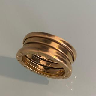 ブルガリ(BVLGARI)の銀座店購入 正規品BVLGARI ゼロワンリング ピンクゴールド 15号(リング(指輪))