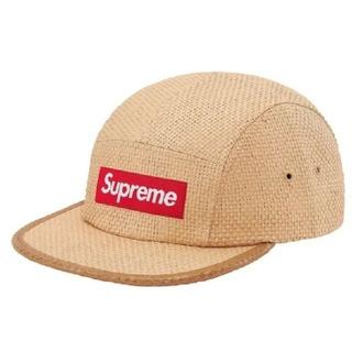 シュプリーム(Supreme)のSupreme Raffia Camp Cap キャップ 帽子(キャップ)