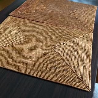 ムジルシリョウヒン(MUJI (無印良品))の無印良品 アタ素材 ランチョンマット2枚(テーブル用品)
