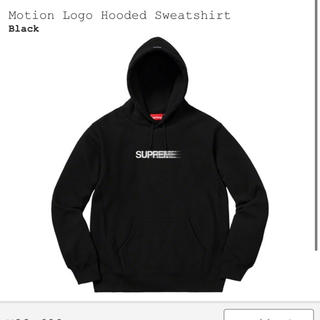 シュプリーム(Supreme)のSupreme Motion Logo Hooded Black Medium(スウェット)