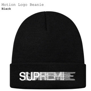 シュプリーム(Supreme)のSupreme Motion Logo Beanie モーションロゴ(ニット帽/ビーニー)