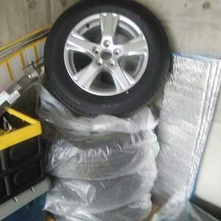 グッドイヤー(Goodyear)の19年製アルファード 新品 同様 215/65r16 タイヤ 純正ホイール (タイヤ・ホイールセット)