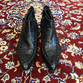 ジャンポールゴルチエ(Jean-Paul GAULTIER)のJean Paul GAULTIER race-up ankle boots(ブーツ)