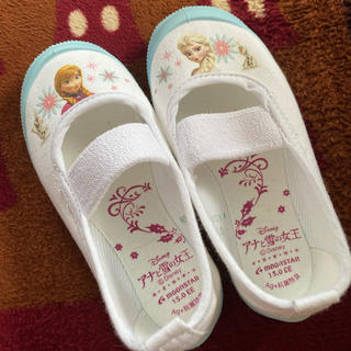 ディズニー(Disney)の新品未使用アナ雪上靴15センチ(スクールシューズ/上履き)