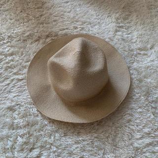 アナザーエディション(ANOTHER EDITION)の麦わら帽子 カンカン帽子(麦わら帽子/ストローハット)