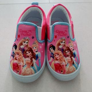 ディズニー(Disney)のディズニープリンセス 上靴 15cm 新品同様 上履き(スクールシューズ/上履き)