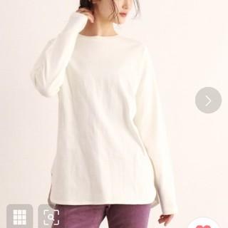 オゾック(OZOC)のOZOC レイヤードTシャツ 白(Tシャツ(長袖/七分))