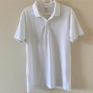 ユニクロ(UNIQLO)のユニクロ メンズ白ポロシャツ  シンプル(ポロシャツ)