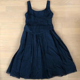 ロートレアモン(LAUTREAMONT)の黒ドレス(ミディアムドレス)