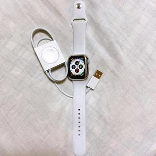 アップルウォッチ(Apple Watch)のApple Watch series5 40mm GPSモデル(スマートフォン本体)