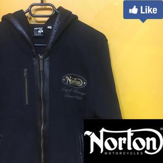 ノートン(Norton)の【値下げ交渉可】ノートン NORTON パーカー M ブラック(パーカー)