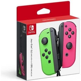 ニンテンドースイッチ(Nintendo Switch)のNintendo JOY-CON (L)/(R) ネオングリーン/ピンク(その他)