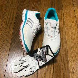 アディダス(adidas)のadidasゴルフ レディース スパイクレスシューズ(その他)